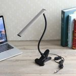 Colahome LED Desk Table Lamp USB Dimmable Eye Care Bedside Reading Study Room Light Gift