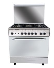 Italiano Stainless Gas Cooker - 5 Burners