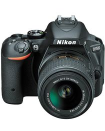 D5500 - 24.2MP DSLR Camera with 18-55mm Lens - Black