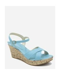 Heeled Sandals - Turquoise