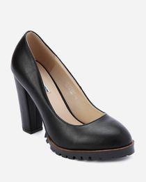 Chunky Heel Shoes - Black