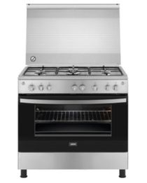 ZCG91246XA Gas Free Standing Cooker - 90 cm - 5 Burners