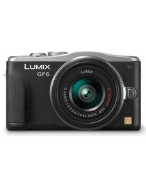 Lumix DMC-GF6 16MP Digital Single Lens Mirrorless Camera with Wi-Fi - Black