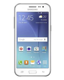 جالاكسي J2 - موبايل ثنائي الشريحة 3G - شاشة 4.7 بوصة - أبيض
