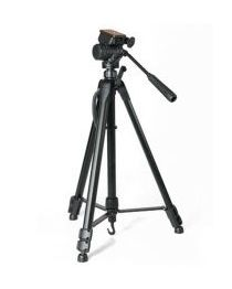 WF5317 - Tripod with Fluid Head - OPTEX - Black