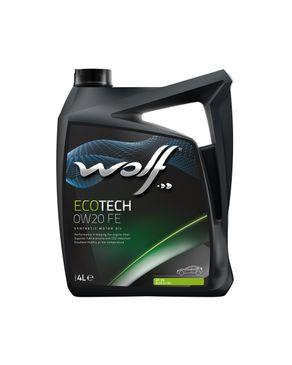 Wolf EcoTech 0W20 FE - 4 Liters logo