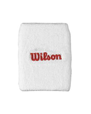 Wilson WRA5600309000 Double Wristbands – Red logo