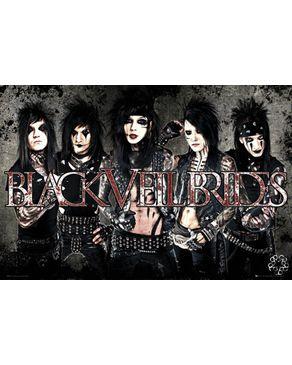 GB Eye Black Veil Brides Maxi poster -