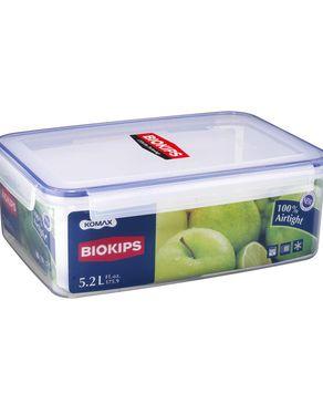 Komax Biokips Food Storage Container - 5.2 Litre