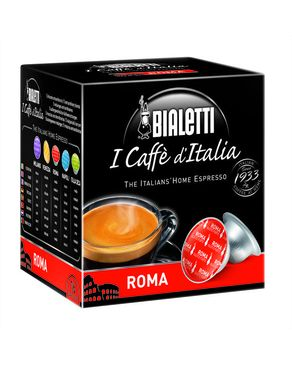 BIALETTI Roma Medium Roasted Capsules Box (Gusto Forte)