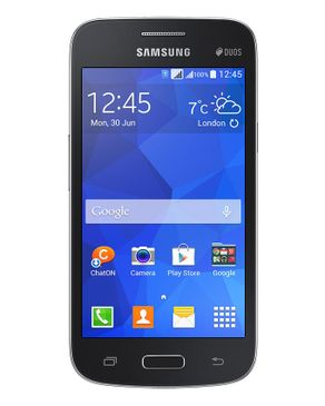 "موبايل سامسونج Samsung Galaxy Star 2 Plus 4.3"" Dual SIM Mobile Phone - Black"
