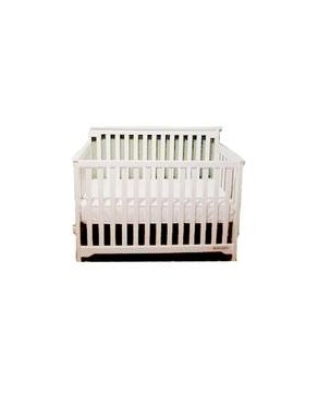 Bright Starts Grace 4 in1 Convertible Crib - White