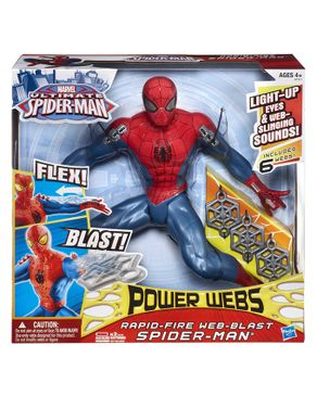 Hasbro Rapid Fire Power Webs Blast Spider-Man