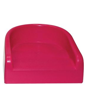 Prince Lionheart Soft Booster  Seat - Flashbulb Fuchsia