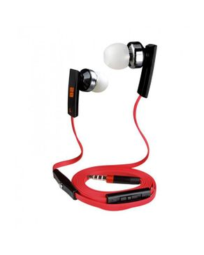 2B 2B- Mobile Phone Earphone , suitable for Nokia/Iphone, black/white/red, golded connecto
