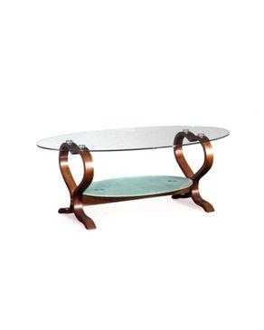 Lospazio S132-Coffee Table - Brown