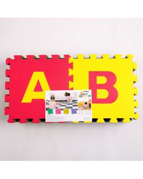 Top Fit Luxurious  Eva Puzzle Mat Letters - 10 Pcs 11MM thickness