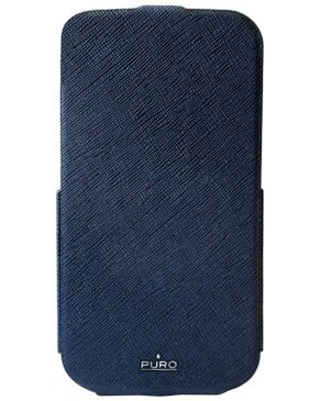 Puro Samsung Galaxy S 4 Cover - Blue
