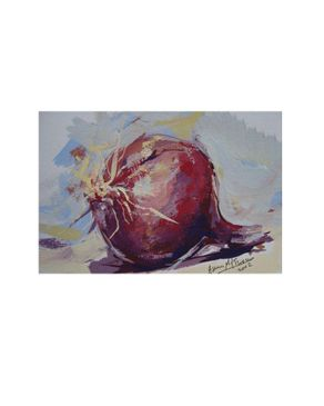 Easel and Camera 007ASMA Painting – 11 x 15 cm Without Frame