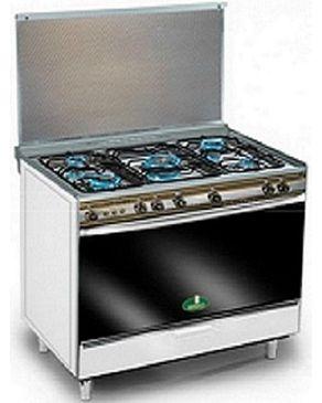 Kiriazi 8900 Stainless Steel Gas Cooker - 5 Burners