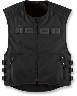 Icon Brigand Vest 4X/5X - Black