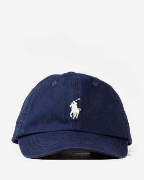 Ralph Lauren Boys Classic Sport Cap - Dark Navy logo