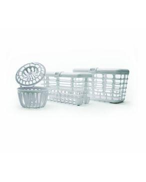 Prince Lionheart Complete Dishwasher Basket System - White