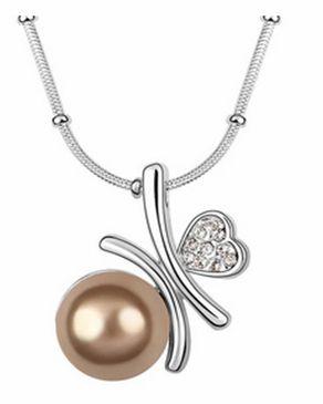 Dinardo Dinardo 18K Gold Plated Swarovski Necklace logo