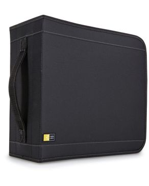 Case Logic 336 Capacity Nylon CD Wallet – Black