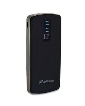 Verbatim Portable Power Pack - 3500 mAh - Black