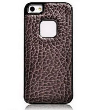 Baseus Tribe Series Elephant Texture Electroplating Cover Coffee For Iphone 5 Brown
