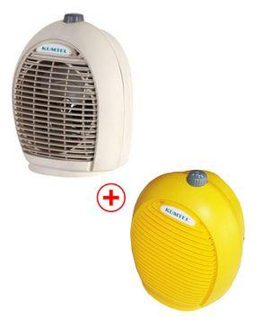 Kumtel LX-6331 2 in 1 Fan & Heater 2000W - 2 pieces