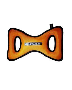 Mr.yelp Xtuffables Tuffa Tug Dog Toy - Orange