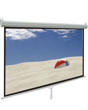 Windon 244X244 cm Manual Wall Projection Screen
