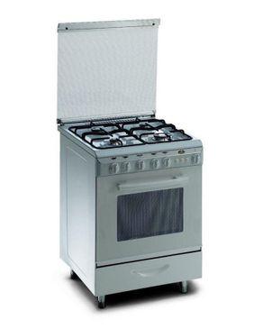 Kiriazi 6600 Gas Cooker - 4 Burners - White