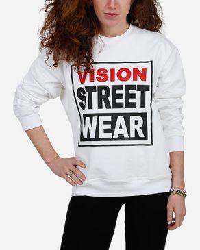 E-Nash Front Message Sweatshirt - White logo