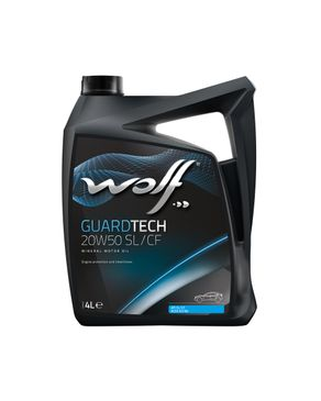 Wolf Guard tech 20w50 SL/CF - 4 Liters logo