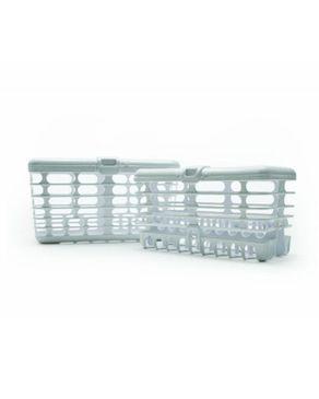Prince Lionheart  2 in 1 Combo Dishwasher Basket - White