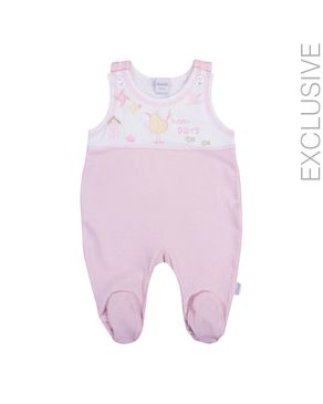 Stummer Pink Cotton Sleeveless Layette logo