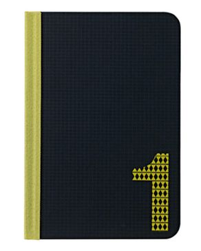 Ozaki OC104OE Slim Folio Case Number 1 - Black/Yellow