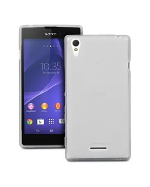 Generic TPU Rubber Skin Cover Case for Sony Xperia T3 Clear