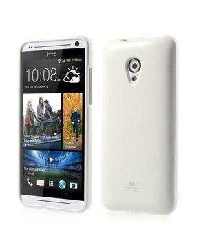 Generic TPU Gel Case for HTC Desire 700 - Clear White