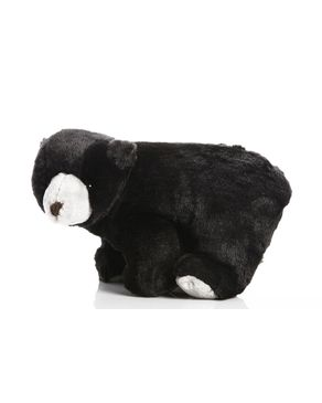 Mani Stuffed Polar Bear - Black