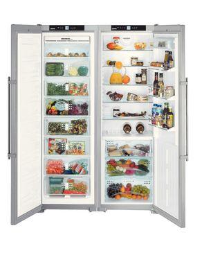 LIEBHERR SBSes7253 Refrigerator - 32ft - Silver