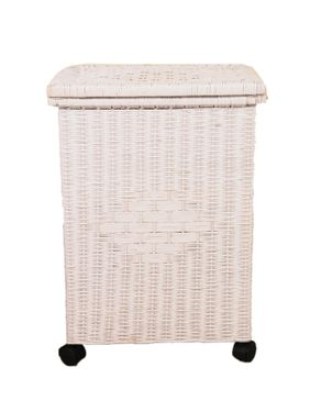 Badawya Bamboo Basket -  White