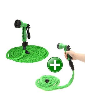 GUG Expandable Hose 25ft - Green+ Free Expandable Hose 25ft - Green logo