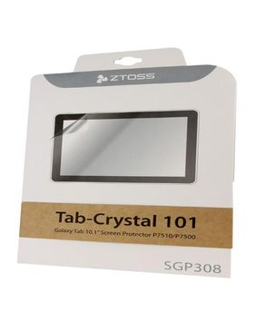 Ztoss SGP308 Tab-Crystal 101 Galaxy Tab 10.1'' Screen Protector P7510 / P7500 logo