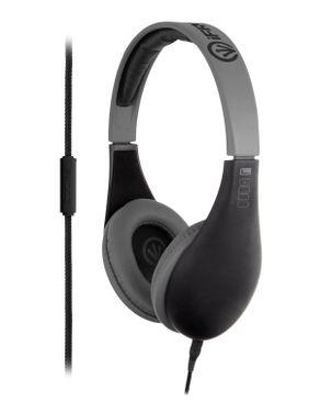 iFrogz Audio Coda Headphones with Microphone - Black