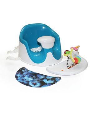 Prince Lionheart BebePOD® Chubs Plus Baby Sitter and Booster Seat - Berry Blue