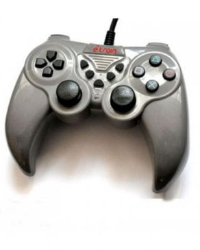 E-Train Etrain  - USB2.0 - Single gamepad, wired with PS3 Structure 4 in 1, rubber painting, gray and blue